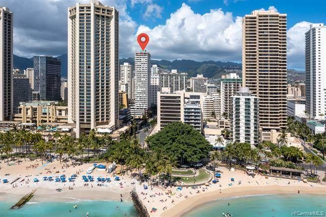 2427 Kuhio Avenue #1901, Honolulu, HI 96815 (MLS #202125606) :: Hawai'i Life