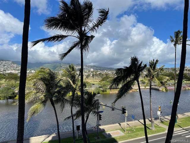 2547 Ala Wai Boulevard #402, Honolulu, HI 96815 (MLS #202125703) :: Team Lally