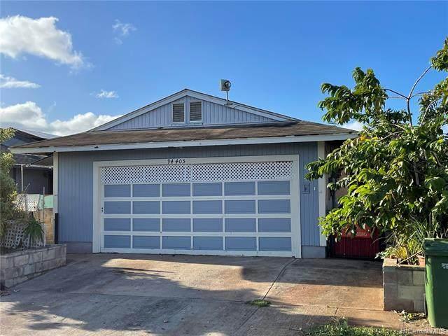 94-405 Kuahui Street, Waipahu, HI 96797 (MLS #202126102) :: Keller Williams Honolulu