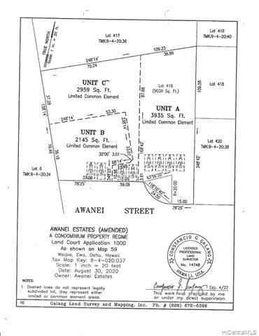 94-832 Awanei Street C, Waipahu, HI 96797 (MLS #202126109) :: Keller Williams Honolulu