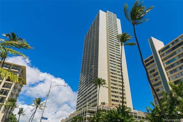 445 Seaside Avenue #4102, Honolulu, HI 96815 (MLS #202126243) :: Keller Williams Honolulu