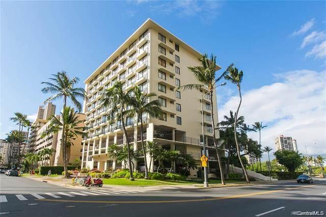 440 Seaside Avenue #607, Honolulu, HI 96815 (MLS #202126318) :: Island Life Homes