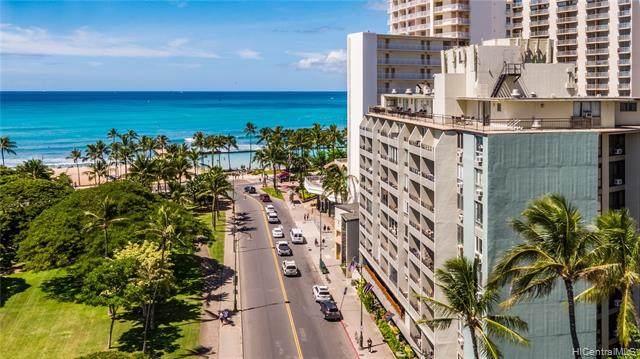 134 Kapahulu Avenue #716, Honolulu, HI 96815 (MLS #202126329) :: Keller Williams Honolulu