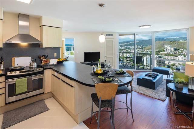 801 S King Street #3607, Honolulu, HI 96813 (MLS #202126338) :: Island Life Homes