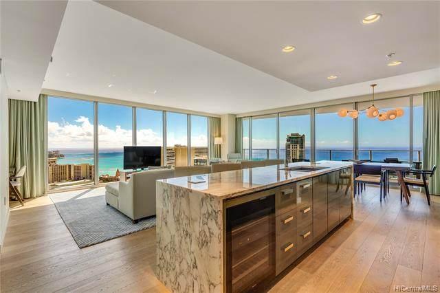 383 Kalaimoku Street E3407 (Tower 1), Honolulu, HI 96815 (MLS #202126411) :: Weaver Hawaii | Keller Williams Honolulu