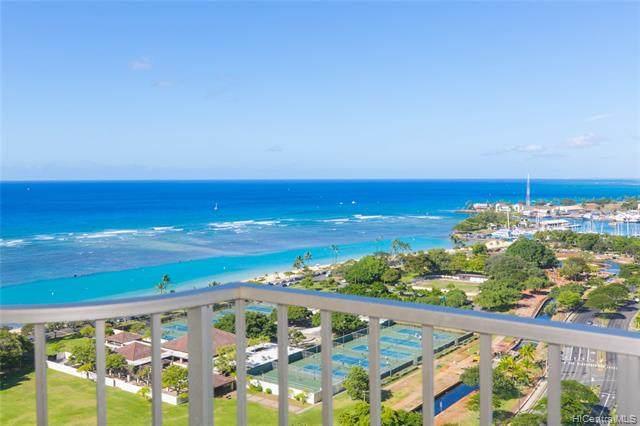 1350 Ala Moana Boulevard #2703, Honolulu, HI 96814 (MLS #202126430) :: Island Life Homes