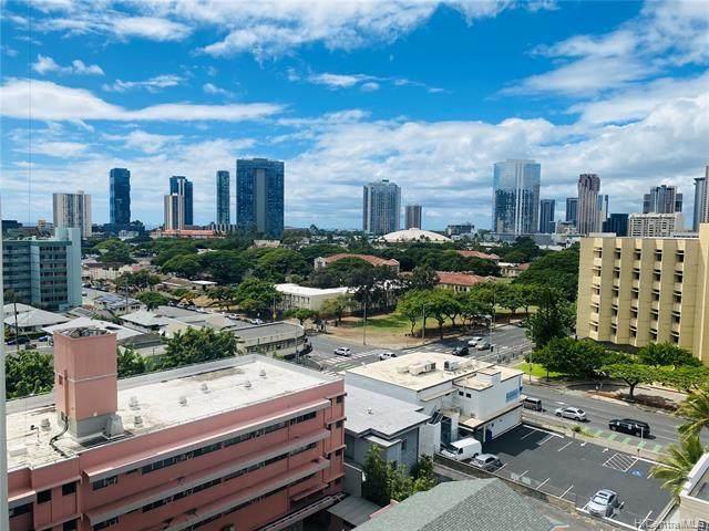 1125 Young Street #1010, Honolulu, HI 96814 (MLS #202126466) :: Island Life Homes