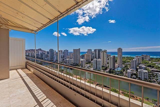 2333 Kapiolani Boulevard Ph 3509, Honolulu, HI 96826 (MLS #202126481) :: Team Lally