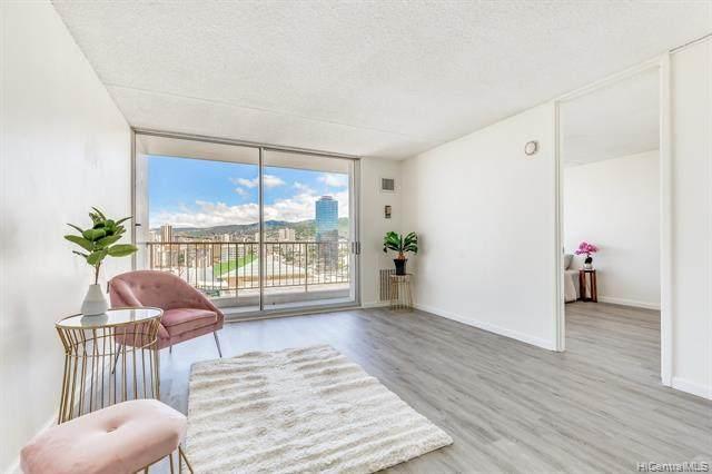 400 Hobron Lane #2108, Honolulu, HI 96815 (MLS #202126588) :: LUVA Real Estate