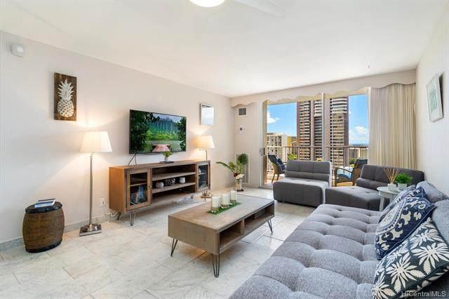400 Hobron Lane #2205, Honolulu, HI 96815 (MLS #202126600) :: Keller Williams Honolulu