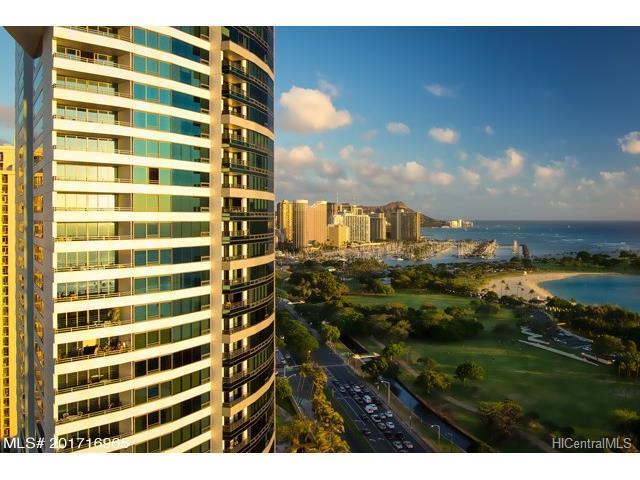 1330 Ala Moana Boulevard #3203, Honolulu, HI 96814 (MLS #201716965) :: Elite Pacific Properties