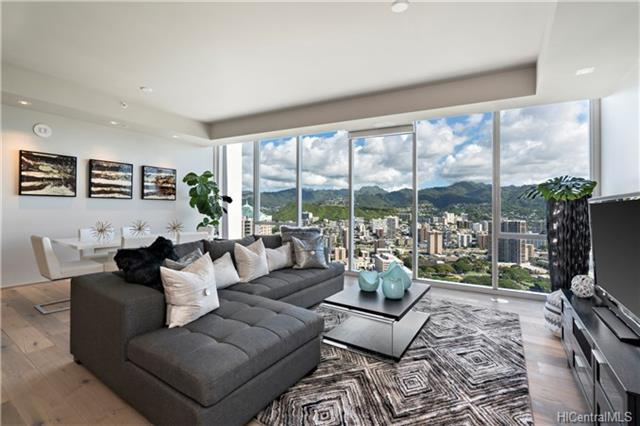 888 Kapiolani Boulevard #4508, Honolulu, HI 96813 (MLS #201803909) :: Redmont Living