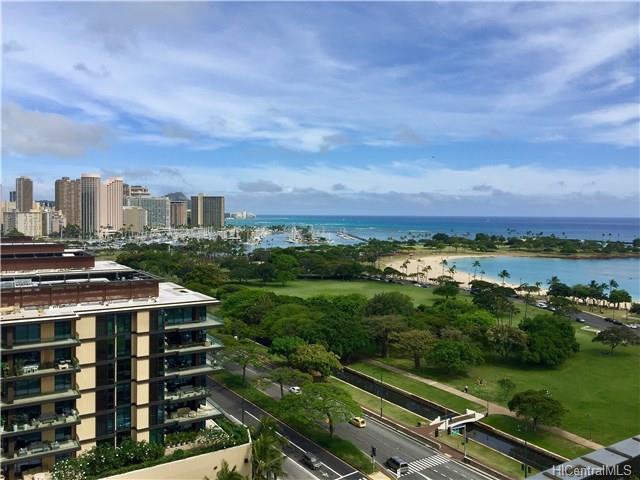 1350 Ala Moana Boulevard #1704, Honolulu, HI 96814 (MLS #201821836) :: Team Lally