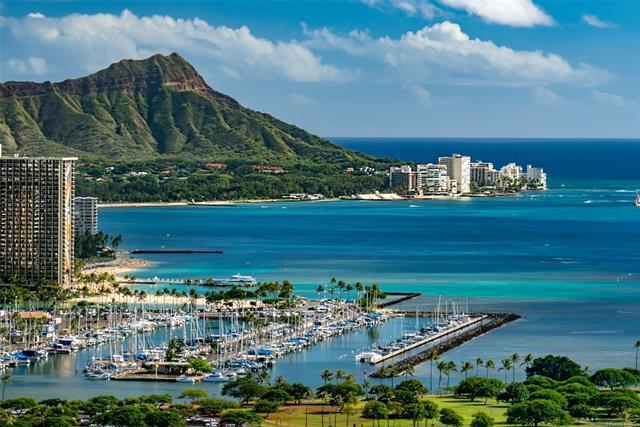 1118 Ala Moana Boulevard #3600, Honolulu, HI 96814 (MLS #201822052) :: Elite Pacific Properties