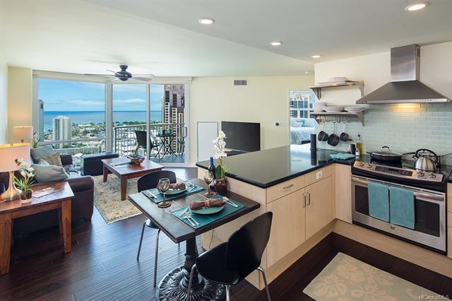 801 S King Street #3704, Honolulu, HI 96813 (MLS #201824180) :: Hawaii Real Estate Properties.com