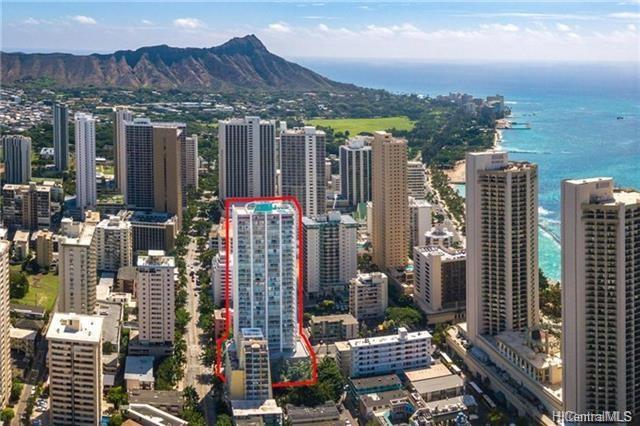 2427 Kuhio Avenue #1307, Honolulu, HI 96815 (MLS #201829929) :: Elite Pacific Properties