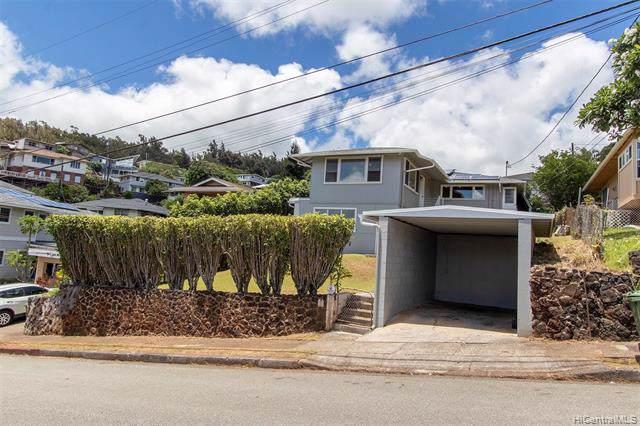 1008 Malua Drive, Honolulu, HI 96817 (MLS #201919031) :: Barnes Hawaii