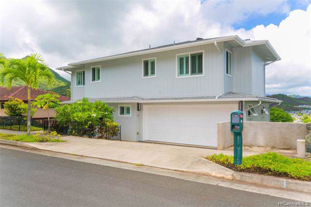 1356 Aupapaohe Street, Kailua, HI 96734 (MLS #201921046) :: Team Lally