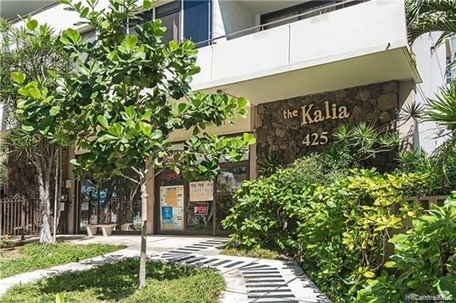 425 Ena Road 305B, Honolulu, HI 96815 (MLS #201922881) :: The Ihara Team