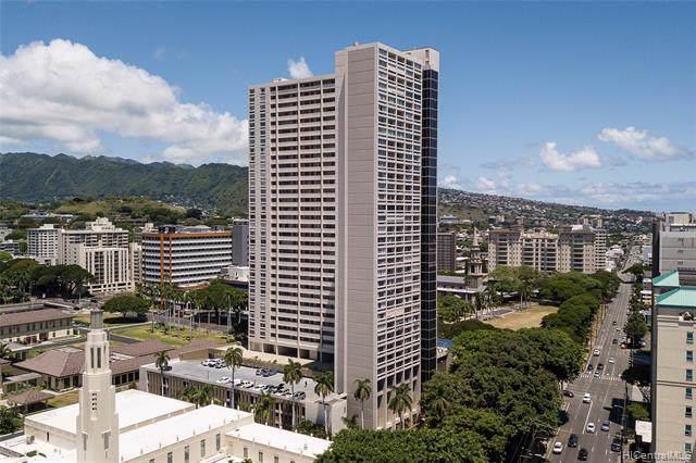 1212 Punahou Street #2904, Honolulu, HI 96826 (MLS #201923237) :: The Ihara Team