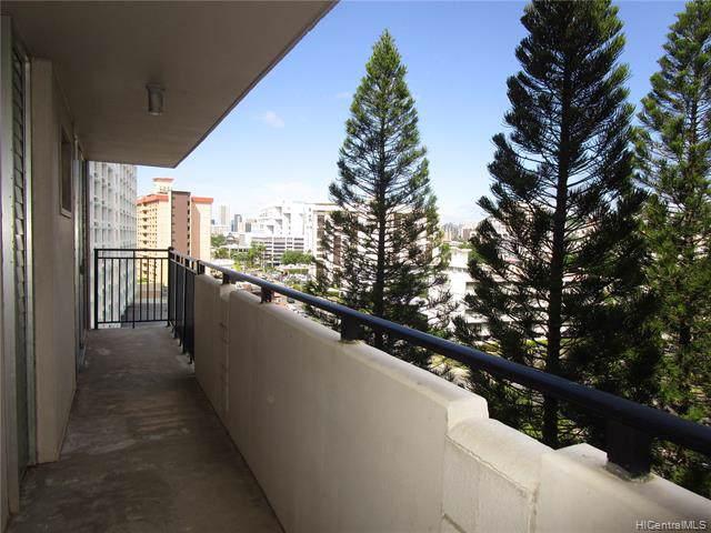 1610 Kanunu Street #808, Honolulu, HI 96814 (MLS #201929728) :: Barnes Hawaii