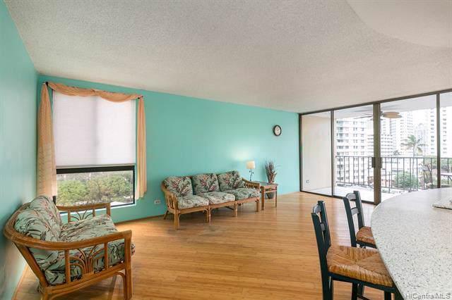 250 Ohua Avenue 6A, Honolulu, HI 96815 (MLS #202001029) :: Barnes Hawaii