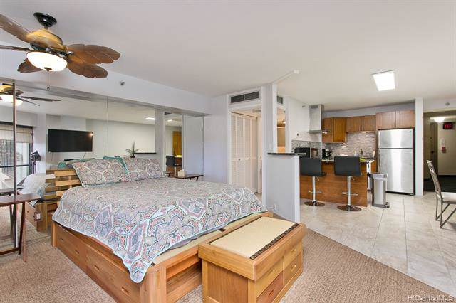 1088 Bishop Street #709, Honolulu, HI 96813 (MLS #202001052) :: Barnes Hawaii