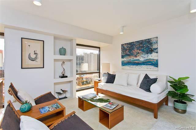 1750 Kalakaua Avenue #1908, Honolulu, HI 96826 (MLS #202001559) :: Elite Pacific Properties