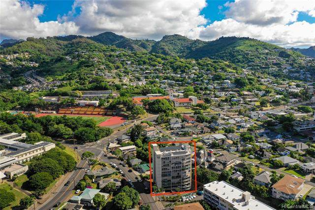 1687 Pensacola Street #805, Honolulu, HI 96822 (MLS #202002790) :: The Ihara Team