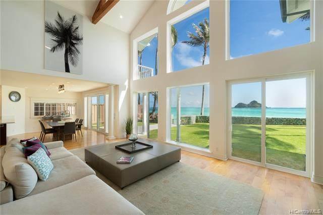 1360 Mokulua Drive, Kailua, HI 96734 (MLS #202005084) :: LUVA Real Estate