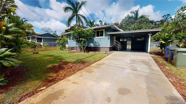 126 Dole Road C, Wahiawa, HI 96786 (MLS #202006546) :: Elite Pacific Properties