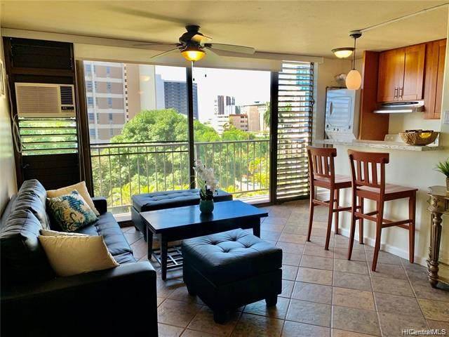 1630 Liholiho Street #505, Honolulu, HI 96822 (MLS #202007366) :: Team Maxey Hawaii