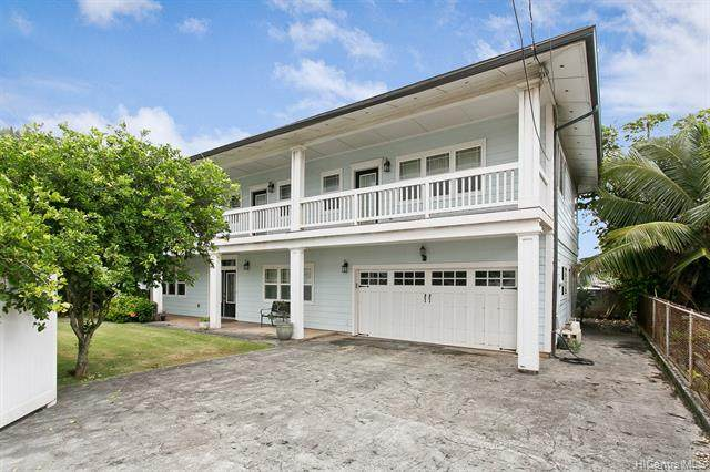 54-298 Hauula Homestead Road B, Hauula, HI 96717 (MLS #202007652) :: Team Lally