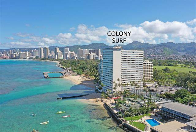 2895 Kalakaua Avenue #207, Honolulu, HI 96815 (MLS #202008380) :: Keller Williams Honolulu