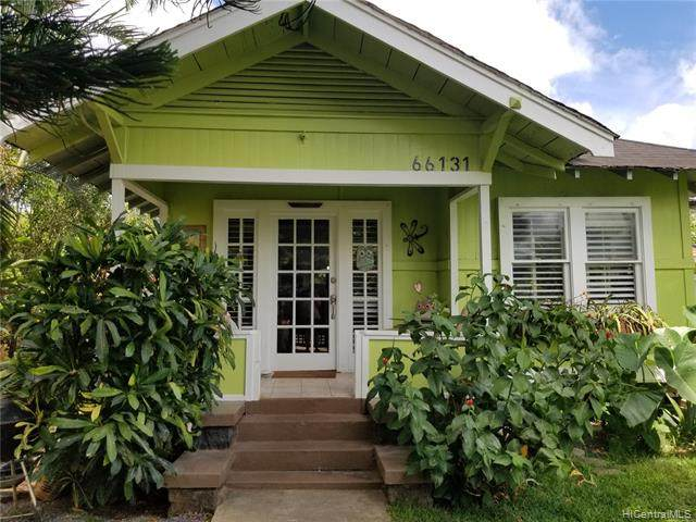 66-131 Nalimu Road, Haleiwa, HI 96712 (MLS #202010641) :: The Ihara Team