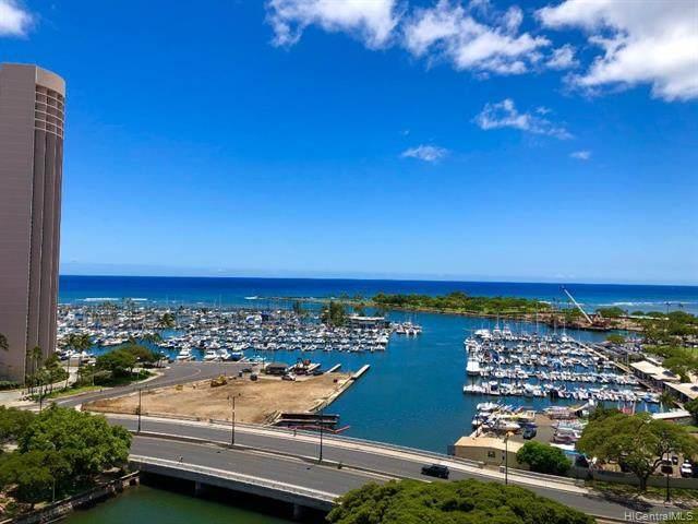 1650 Ala Moana Boulevard #1613, Honolulu, HI 96815 (MLS #202014614) :: Team Lally