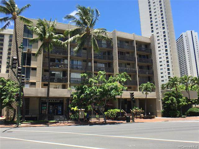 1911 Kalakaua Avenue #310, Honolulu, HI 96815 (MLS #202015249) :: Elite Pacific Properties