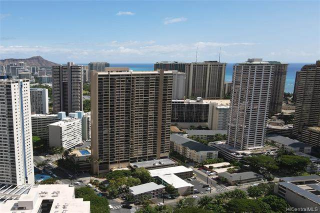 411 Hobron Lane #2307, Honolulu, HI 96815 (MLS #202024546) :: Team Lally