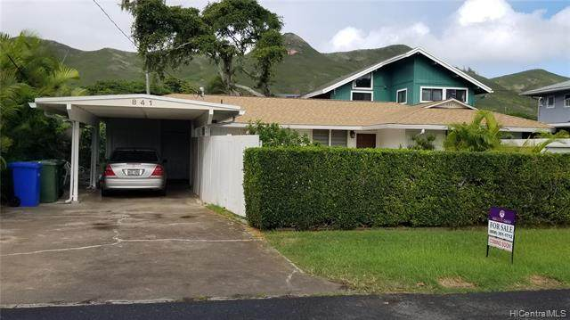 841 Kainui Drive, Kailua, HI 96734 (MLS #202029365) :: The Ihara Team