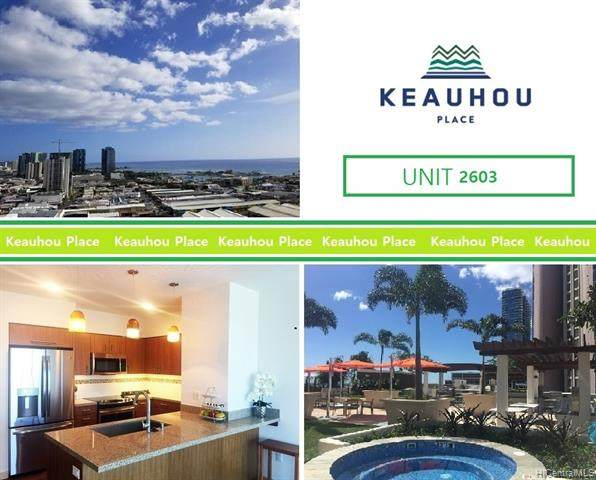 555 South Street #2603, Honolulu, HI 96813 (MLS #202108997) :: Island Life Homes
