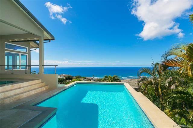691 Kahiau Loop, Honolulu, HI 96821 (MLS #202109268) :: LUVA Real Estate