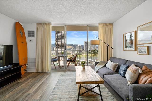 1925 Kalakaua Avenue #1505, Honolulu, HI 96815 (MLS #202115215) :: Compass