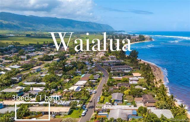 67-238A Kahaone Loop, Waialua, HI 96791 (MLS #202115411) :: Team Lally