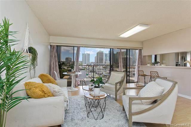907 Birch Street #601, Honolulu, HI 96814 (MLS #202119306) :: LUVA Real Estate