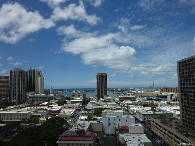60 N Beretania Street #1601, Honolulu, HI 96817 (MLS #202119541) :: LUVA Real Estate