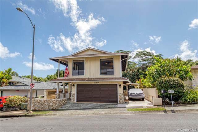 45-470 Lolii Street, Kaneohe, HI 96744 (MLS #202120021) :: LUVA Real Estate