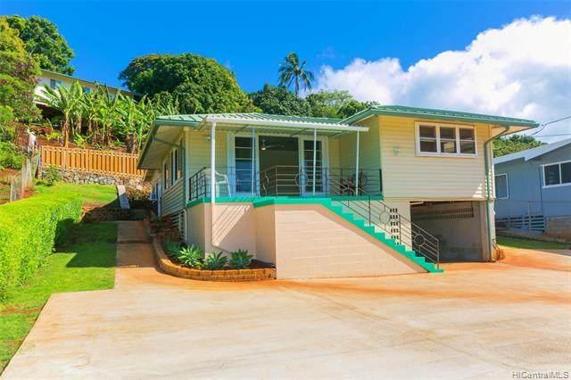 99-652A Kaulainahee Place, Aiea, HI 96701 (MLS #202120790) :: Weaver Hawaii | Keller Williams Honolulu