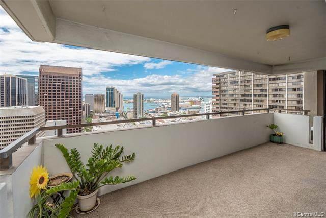 55 S Kukui Street D2702, Honolulu, HI 96813 (MLS #202126507) :: Team Lally