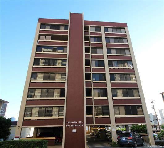 905 Spencer Street #801, Honolulu, HI 96822 (MLS #202000275) :: Elite Pacific Properties