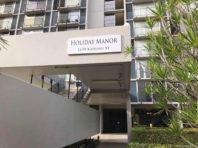 1650 Kanunu Street #1310, Honolulu, HI 96814 (MLS #202027207) :: Barnes Hawaii